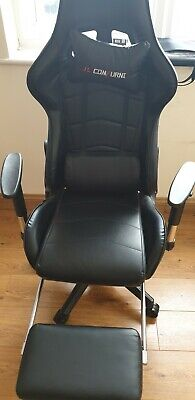 Executive Racing Style Gaming Computer Office Chair Swivel Recliner Foot Rest