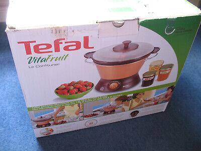 Tefal VITAFRUIT Electric Jam Marmalade Chutney Maker - MJ701134 - New in Box