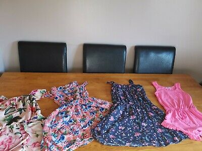 Girls 9 10 years Clothes Bundle. Dresses and Playsuits summer Playsuit dress