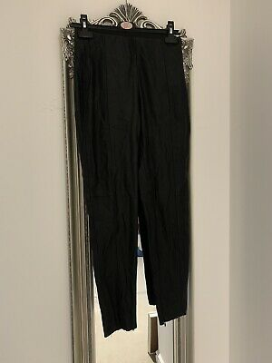 Gorgeous Zara Leather Look Leggings Size Small (8-10) Sexy, Party, Night Out