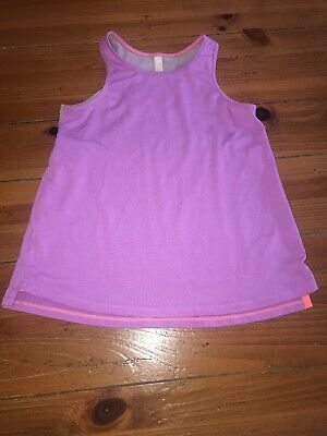 Girls Athleta Girl Tank Top Size X-small (6) Purple Athletic