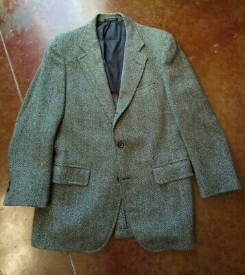 40R Tweed Sport Coat suit Jacket blazer Ivy similar to J Press brooks brothers