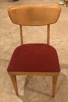 Heywood Wakefield chair wheat M1551A solid! Mid Century Modern MCM