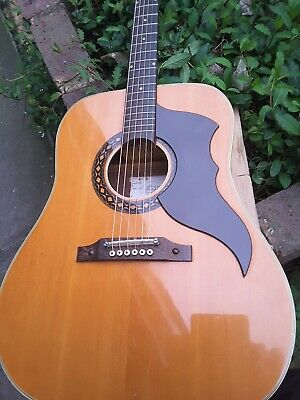 Vintage 1970's Eko Six String Guitar Headstock Repair But Solid