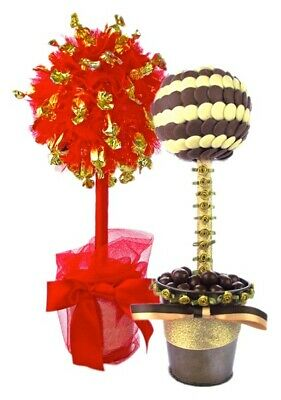 Make your Own Sweet Candy Tree Kit Craft Set (Makes Two Trees)