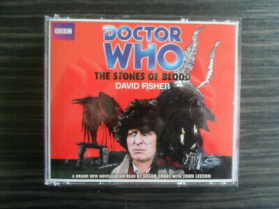 Doctor Who The Stones of Blood Audible audiobook CD