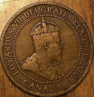 1903 Canada Large Cent Large 1 Cent Penny