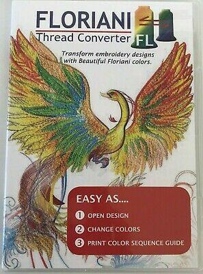 Floriani Thread Converter CD Software Pre-Owned
