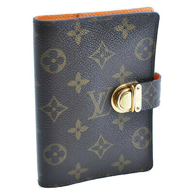 LOUIS VUITTON Monogram Agenda Koala Day Planner Cover R21013 LV Auth th234