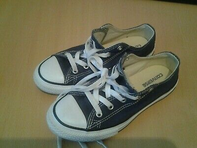 CONVERSE Trainers  BOYS or GIRLS grey / black Size 1