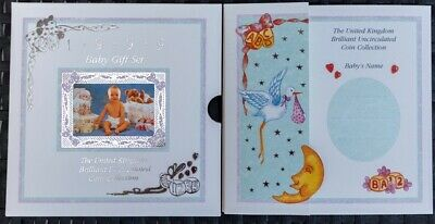 1999 UK Brilliant Uncirculated Baby Gift Coin Set