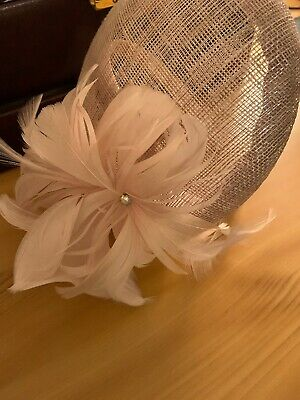 cream fascinator headband BNWT
