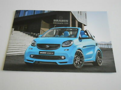 BRABUS brochure catalogue préparateur MERCEDES / SMART FORTOW - édition 2017