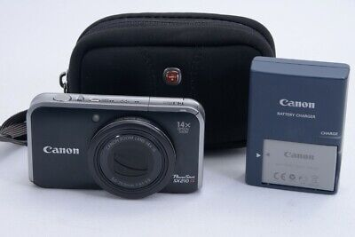 Canon Powershot Sx210Is 14.1Mp Digital Camera - With Case And Batter (Njl017568)