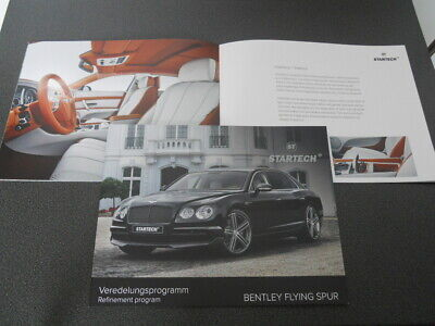 STARTECH BENTLEY FLYING SPUR brochure catalogue - édition 09/2015