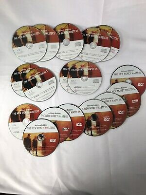 Anthony Robbins - The New Money Masters 7 DVD's/10 CD's