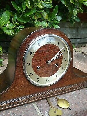 German (Hac) Striking Mantle Clock