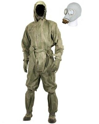 Czech Army NBC Military Chemical Suit w/mask