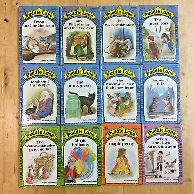 12 Vintage Ladybird Puddle Lane Book Bundle Job Lot Stage 1 2 3 4 reading scheme