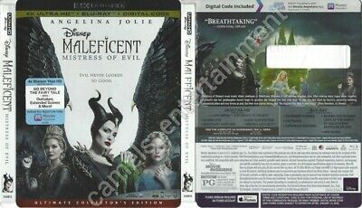 Maleficent: Mistress of Evil (SLIPCOVER ONLY for 4K Ultra HD)