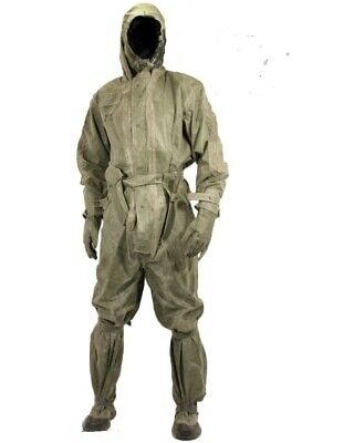 Czech Army NBC Military Chemical Suit w/kit