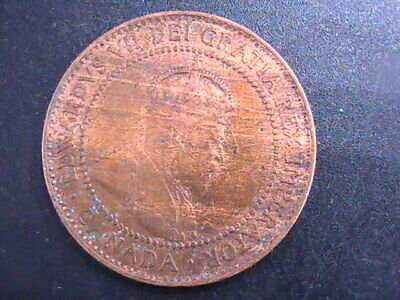CANADA 1908 Large Cent