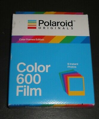 Polaroid Originals Color 600 Film 8/Photos  #004672   Expired  (See Dates) (B37)