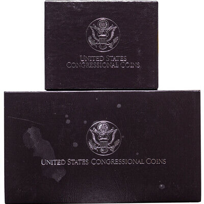 1989 United States Congressional Coins Proof Dollar and Half Dollar Lot