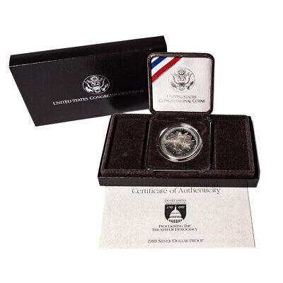 1989 United States Congressional Coins Commemorative Dollar Proof