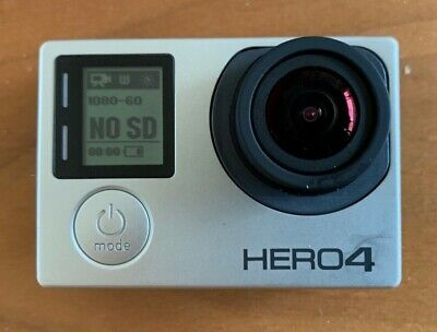 GoPro HERO 4 Silver Edition LCD Camcorder Wi-Fi with Extras