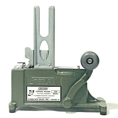 Steelpix 35E Vintage Stemming Machine Professional Florist Tool With Weight