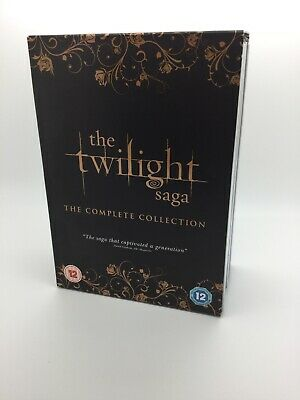 The Twilight Saga The Complete Collection [DVD] + Free DVD
