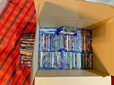 HUGE Lot of 124 Action Adventure Drama Blu-Ray Movies! Genuine Blu-Ray & DVDs