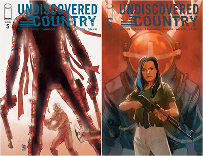 UNDISCOVERED COUNTRY #5 - NM - Image