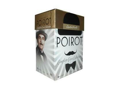 AGATHA CHRISTIE'S POIROT COMPLETE SERIES COLLECTION 33 DVD Series Delux Box Set