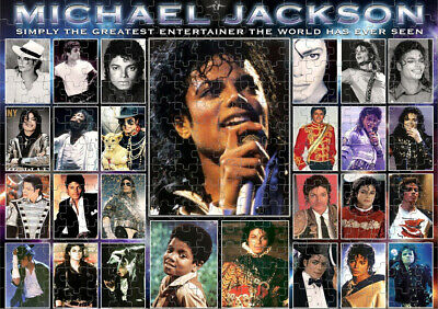 MICHAEL JACKSON Jigsaw Puzzle, Game, Gift, Christmas, Birthday, Rock, Music