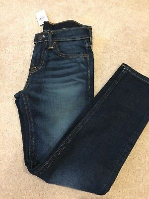 Abercrombie & Fitch Boys Jeans A&F Size 8 Super Skinny Fit New