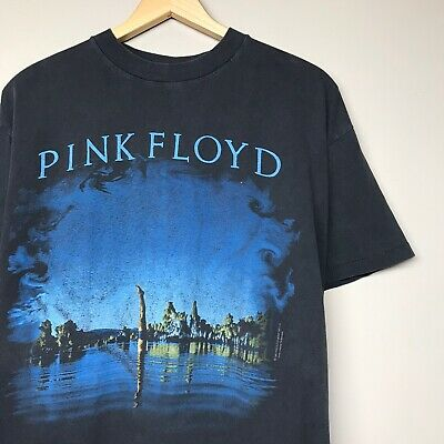 VTG 90S Pink Floyd Wish You Were Here T Shirt 1992 Alternative Back USA Mens L