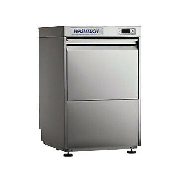 Fully Insulated Undercover Dishwasher 450mm Rack Washtech GL Stainless Steel