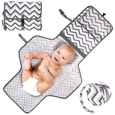 Portable Baby Diaper Changing Pad Waterproof Travel Organizer Infants & Newborns