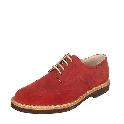 Catesby Shoemakers CHESTER Mens Suede Leather Derby 5 Eye Lace Up Brogue Shoes