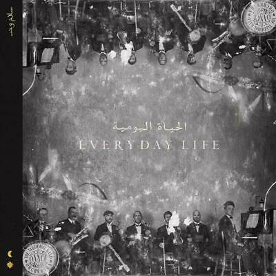 Everyday Life by Coldplay (2019, Audio CD) A present, played twice, not my taste