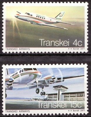 Transkei 1977 Mi 22-23 Transkei Airways MNH