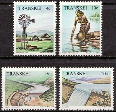 Transkei 1979 Mi 54-57 Watervoorziening, Water resources MNH