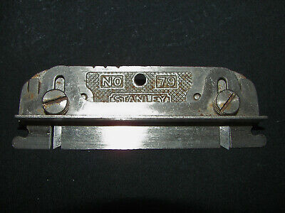 Vintage STANLEY No. 79 Double Sided Rabbet Plane USA Made