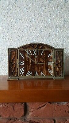 Smiths Sectric Art Deco Mantel Clock