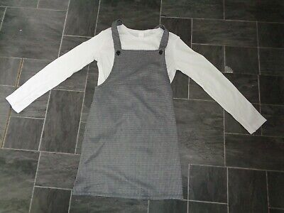 girls next 2 piece outfit- age 11-12 years,dress+long sleeved top-immaculate