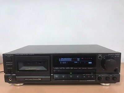 Technics RS-BX707 Tapedeck, 3Kopf, Hinterbandkontrolle EU-Shipping Welcome