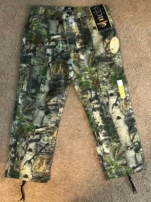 Mossy Oak XL Camo Hunting Pants for Men Camouflage Clothes New With Tags