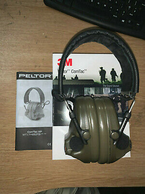 3M Peltor Comtac XP Headset NEW - Hunting Noise Cancelling Shooting Airsoft